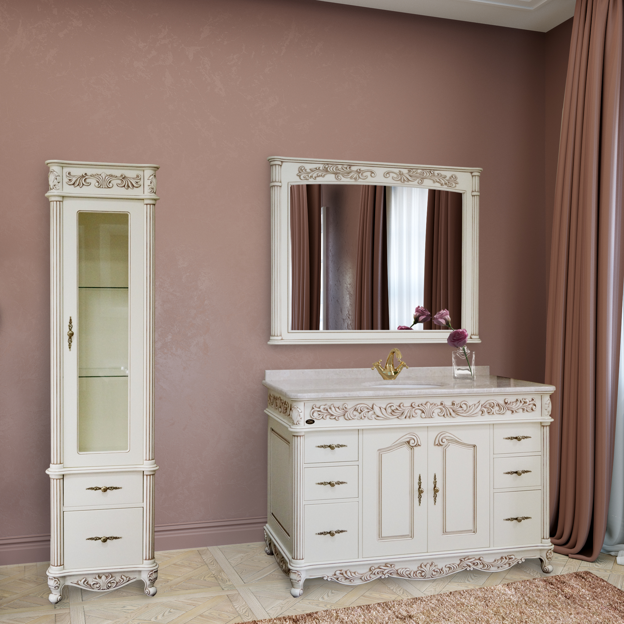 OLYMPIA Bathroom Furniture  MARSAN