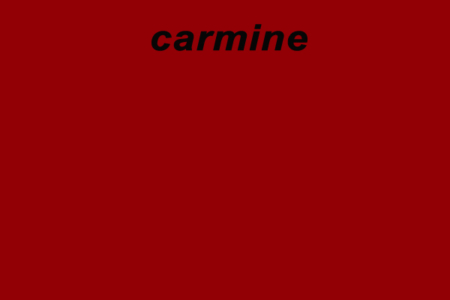 Sink Carmine