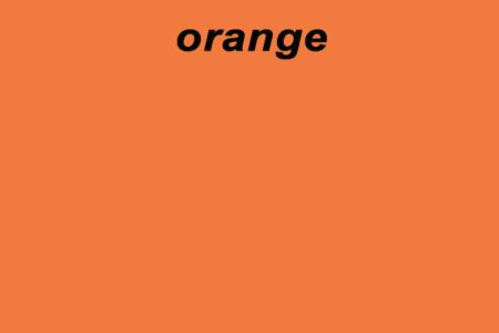 Sink Orange