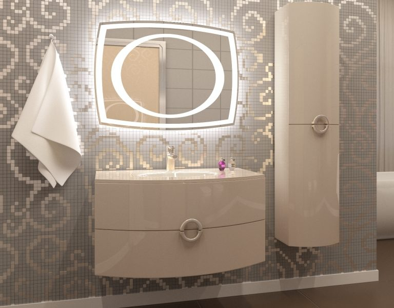 How to choose a bathroom mirror fixture?