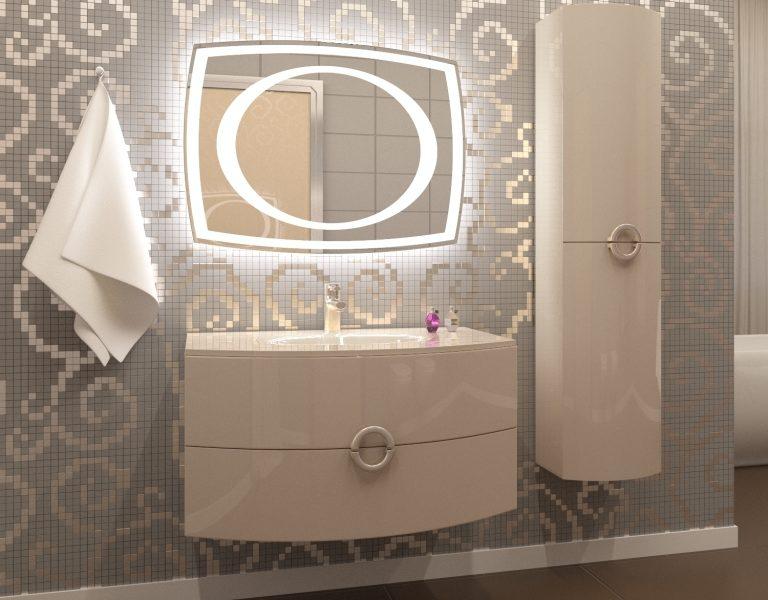 How to choose a bathroom mirror fixture?