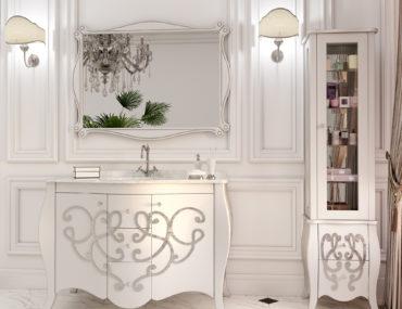 Из какого материала выбрать мебель для ванной комнаты?