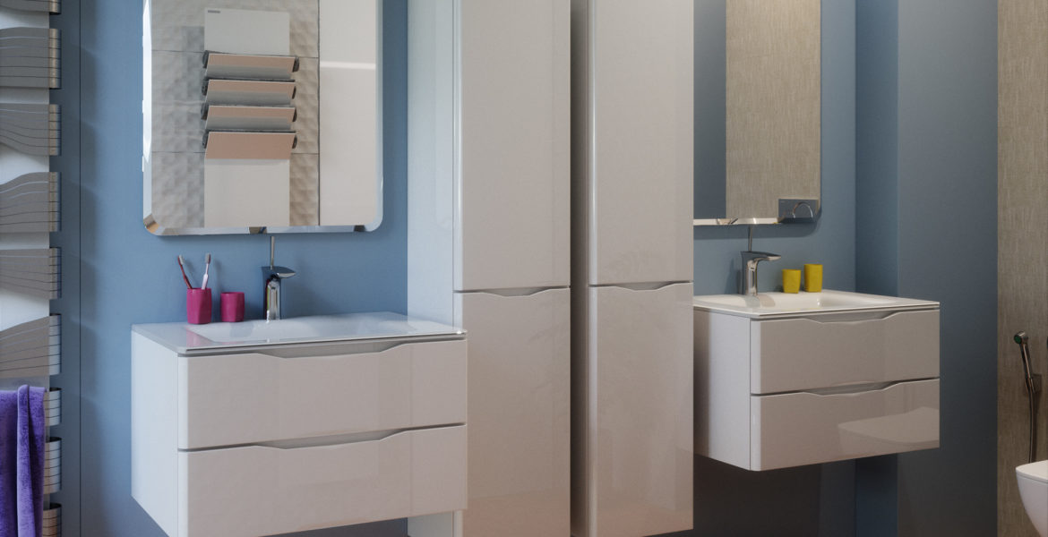 How to choose a tall cabinet for a bathroom?