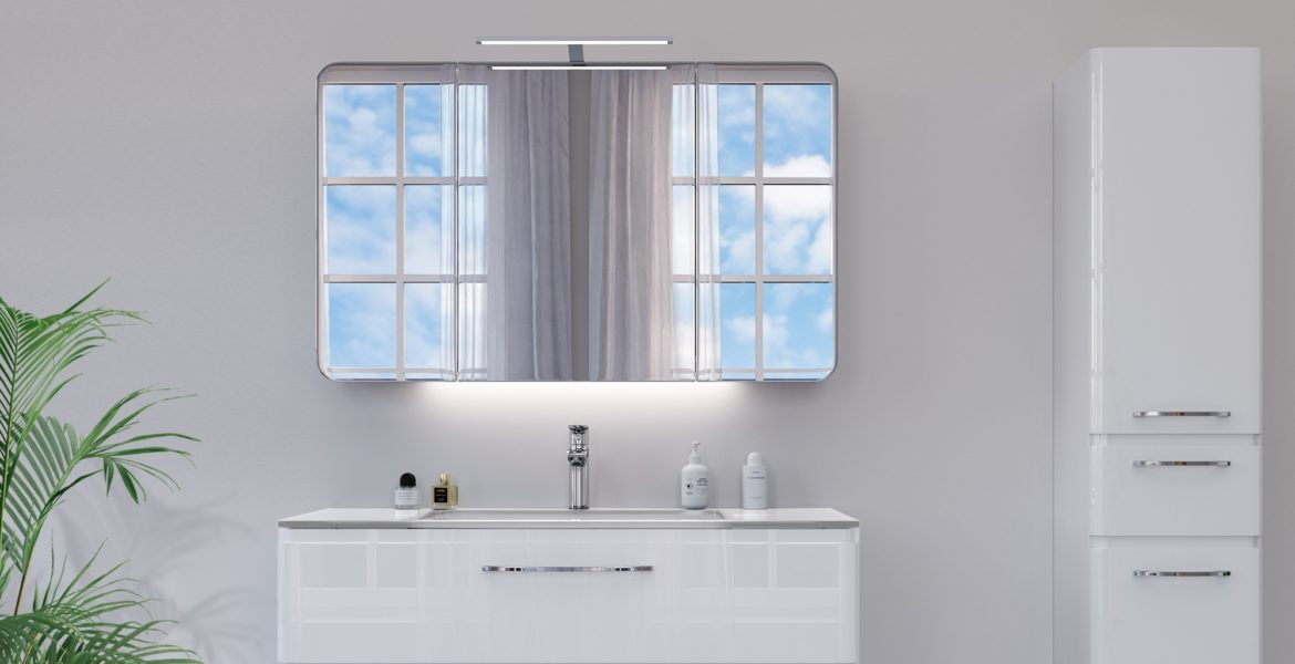 How to choose a bathroom mirror cabinet?