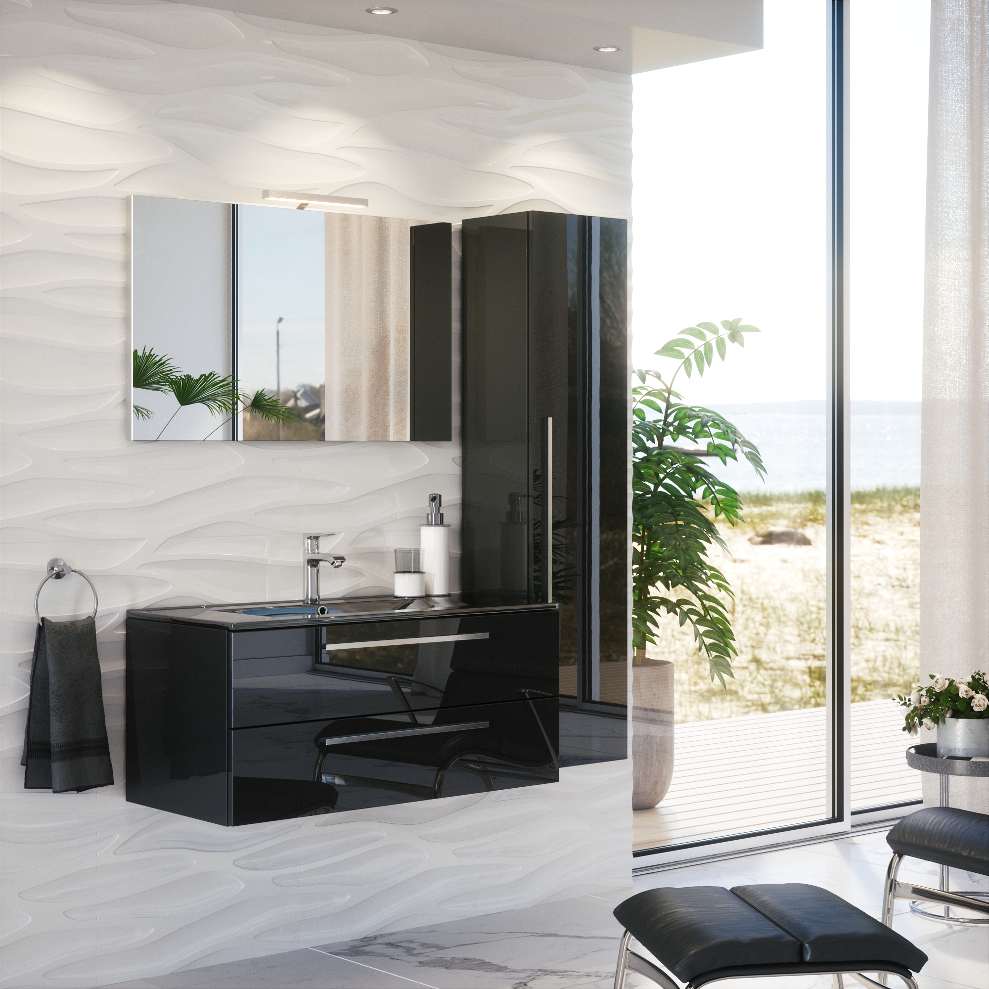 """Furniture for the bathroom of series """"Standard"""""""