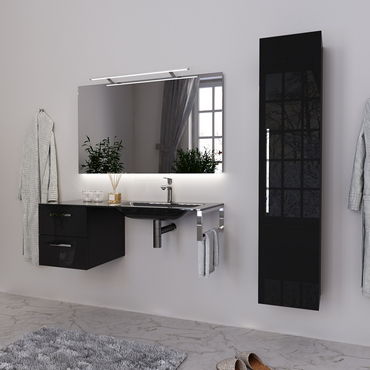 Console, Wall-Mount Bracket and Vanity Unit Sink